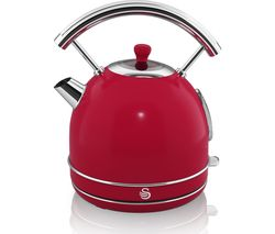 SWAN Retro SK34020RN Traditional Kettle - Red