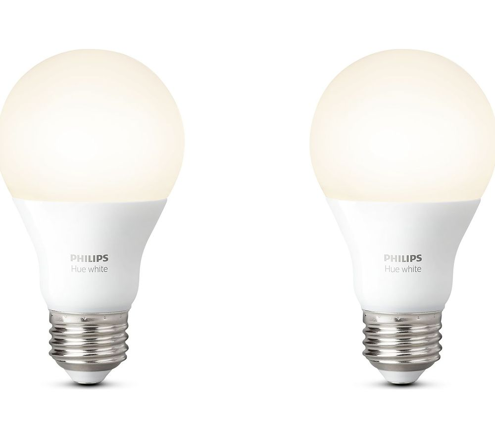 Buy PHILIPS Hue White Smart LED Bulb