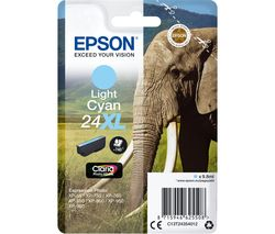 EPSON Elephant 24XL Light Cyan Ink Cartridge