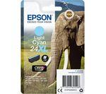 EPSON Elephant 24XL Light Cyan Ink Cartridge