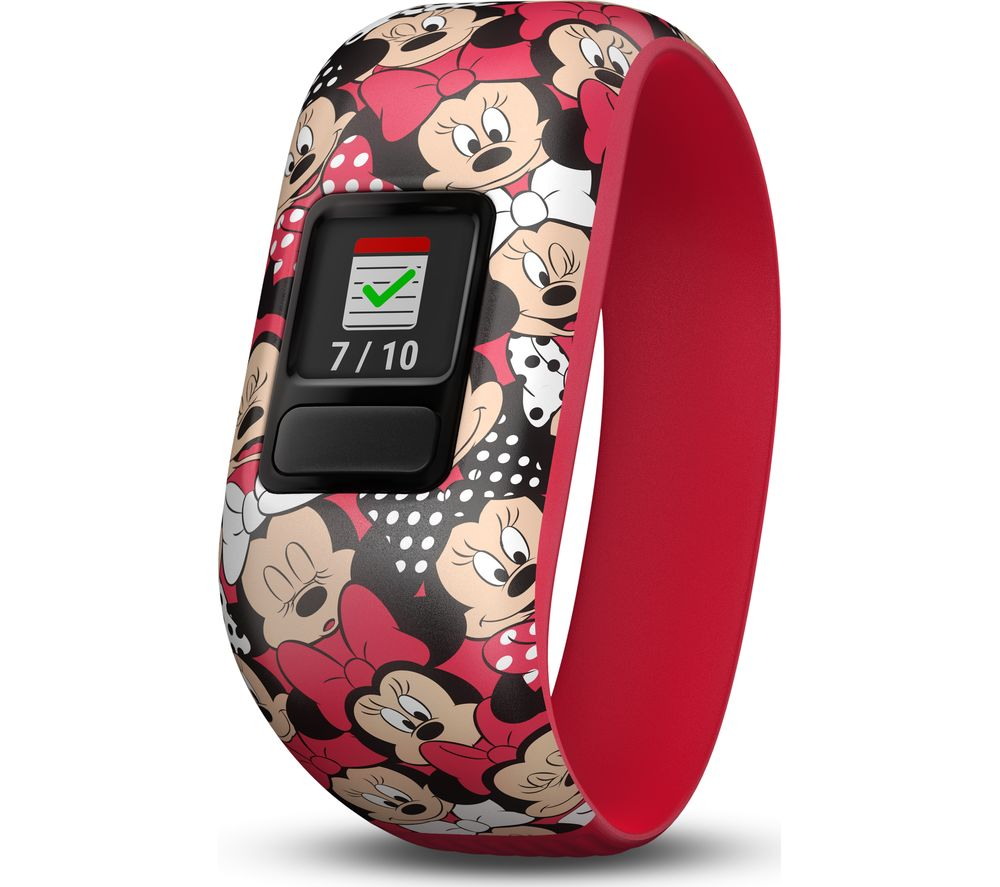 Compare retail prices of Garmin vivofit jr 2 Kid s Activity Tracker Minnie Mouse Stretchy Band to get the best deal online