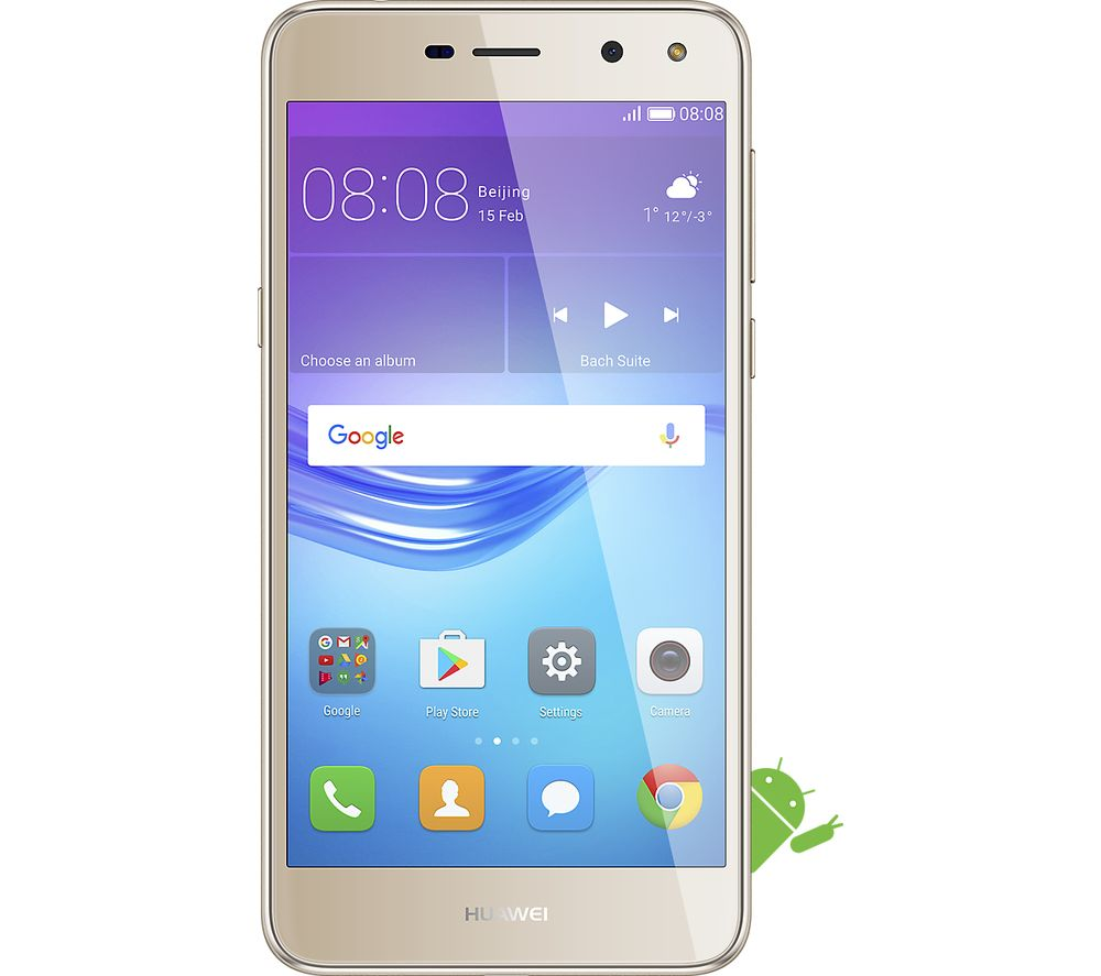 Buy HUAWEI Y6 2017 - 16 GB, Gold | Free Delivery | Currys