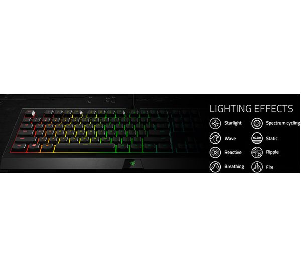 ca6b121d814 Buy RAZER Cynosa Chroma Gaming Keyboard | Free Delivery | Currys