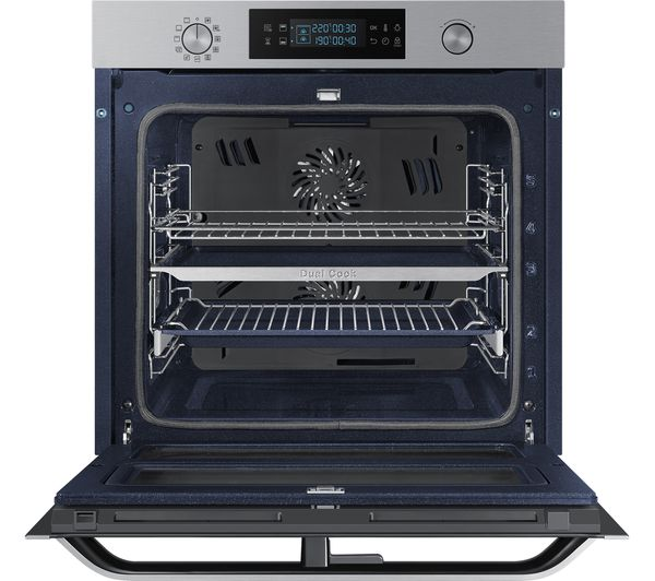 samsung dual cook flex nv75n5641rs electric oven. Black Bedroom Furniture Sets. Home Design Ideas