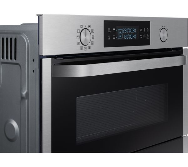 buy samsung dual cook flex nv75n5641rs electric oven stainless steel free delivery currys. Black Bedroom Furniture Sets. Home Design Ideas