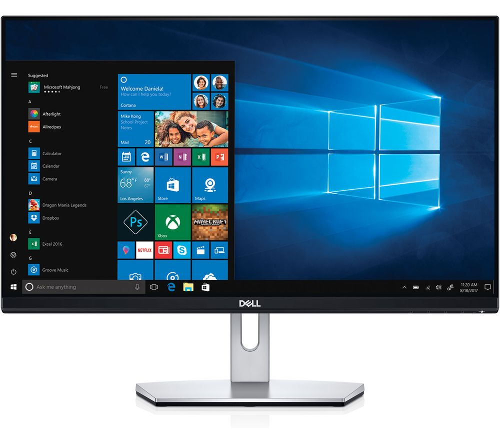 "DELL S2319HN Full HD 23"" IPS LCD Monitor - Black"