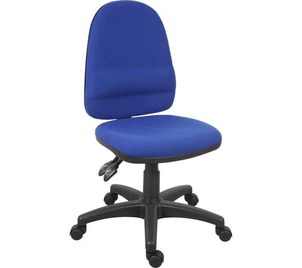 TEKNIK 2900BL Ergo Fabric Tilting Operator Chair - Blue