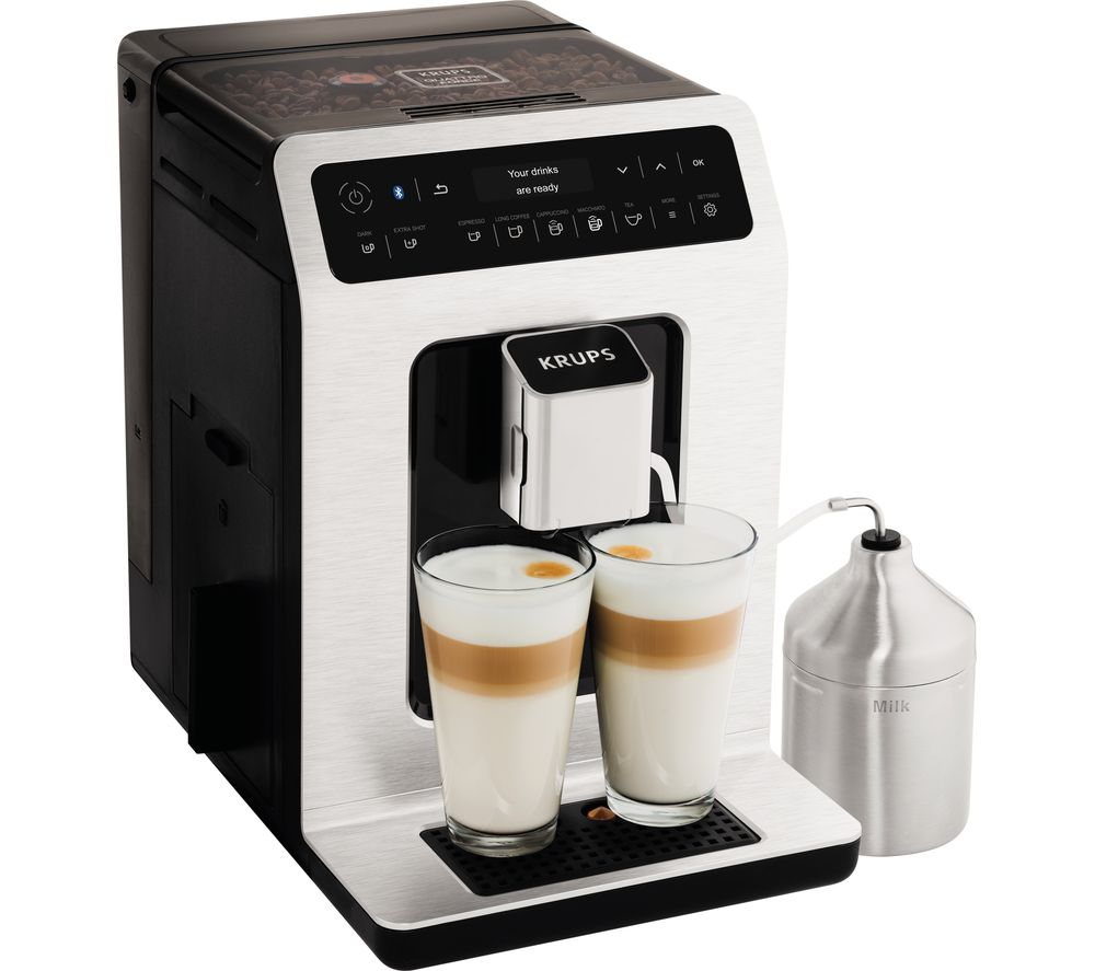KRUPS Evidence Connected EA893D40 Smart Bean to Cup Coffee Machine - Metal