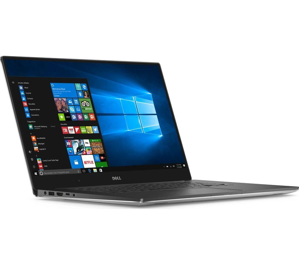 "Image of DELL XPS 15 15.6"" Intel® Core™ i5 Laptop - 1 TB HDD & 128 GB SSD, Silver, Silver"