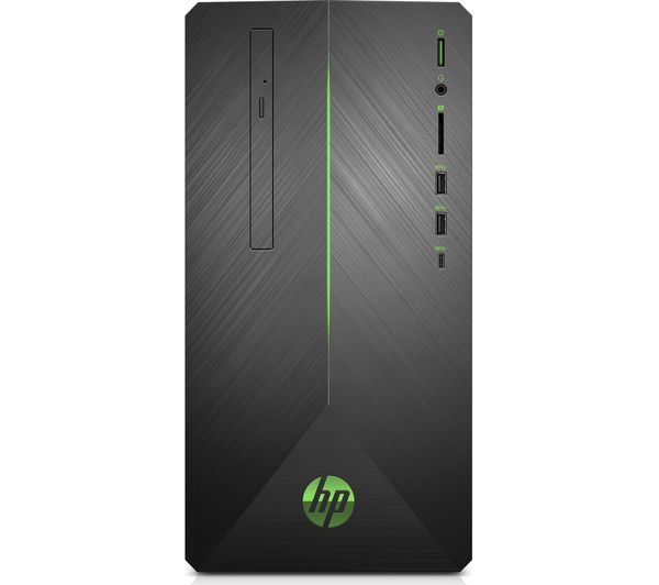 HP Pavilion 690-0011na Intel® Core™ i5+ Desktop PC - 1 TB HDD, Black