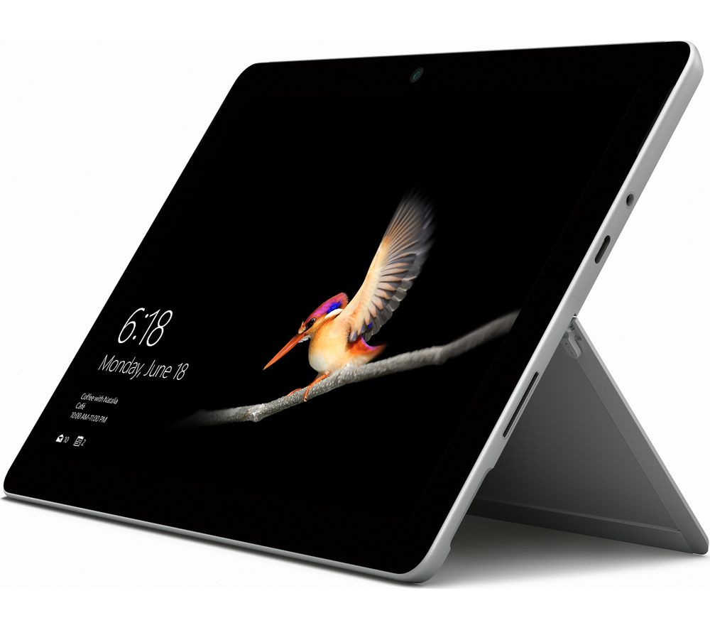 "MICROSOFT 10"" Surface Go - 128 GB, Silver"