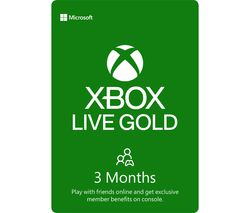 Xbox LIVE Gold Membership 3 Month Subscription