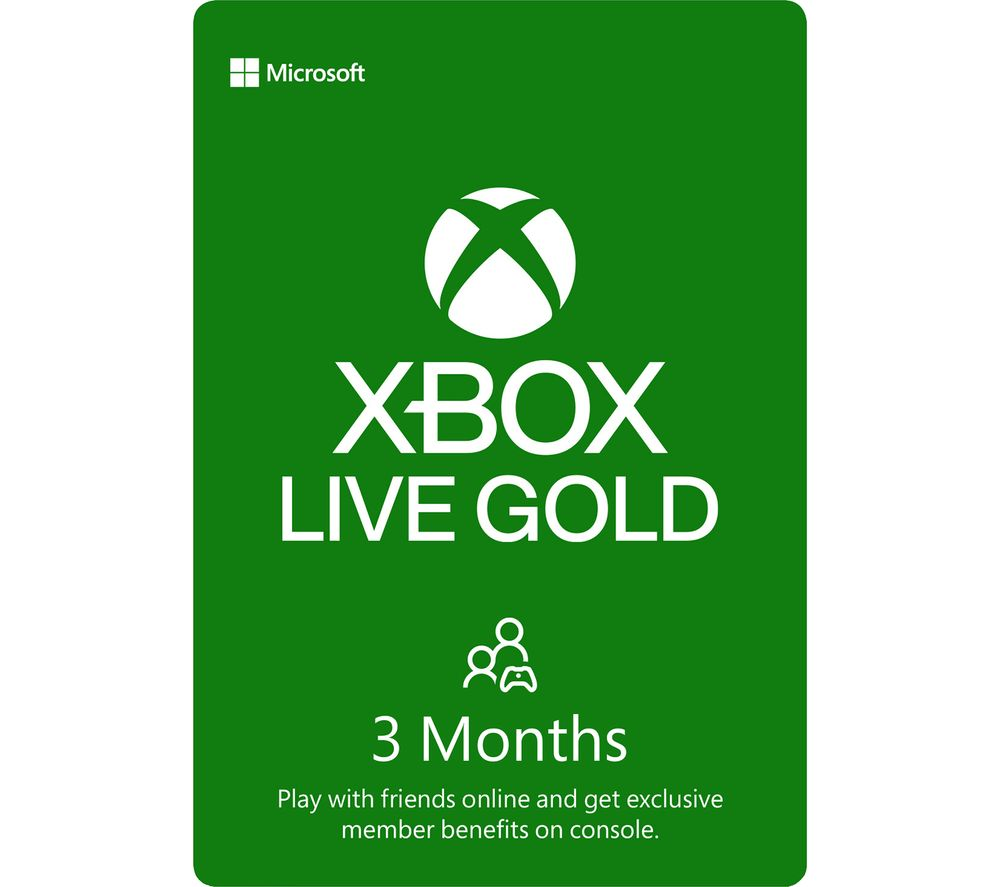XBOX DIGITAL Xbox LIVE Gold Membership 3 Month Subscription