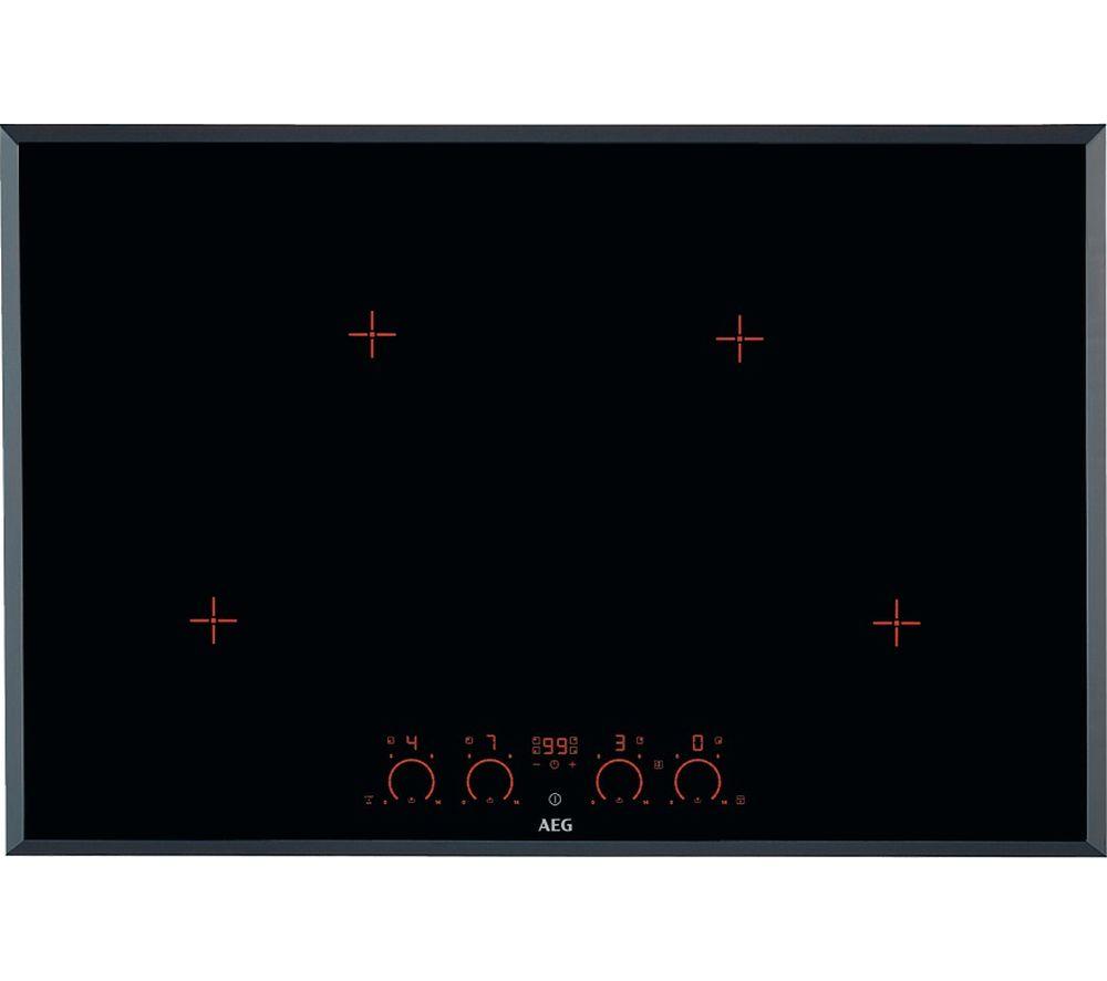 AEG HK874400FB Electric Induction Hob - Black