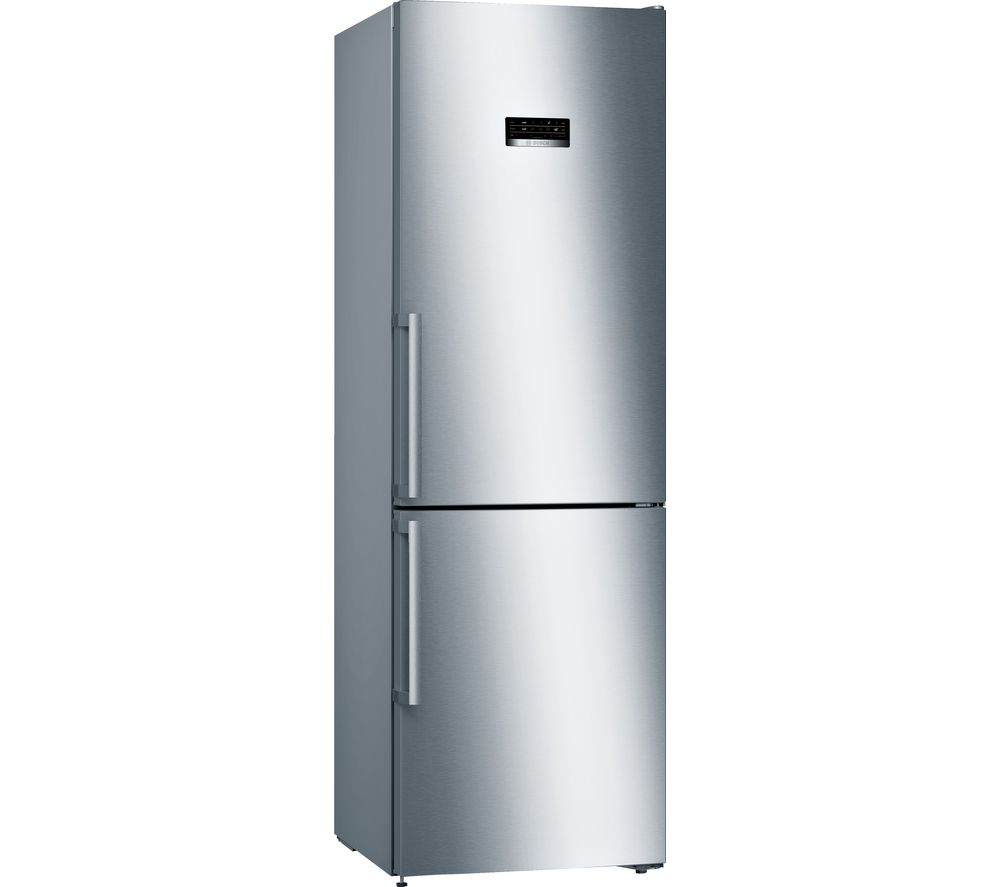 BOSCH Serie 4 KGN36XI35G 60/40 Fridge Freezer - Inox, Cream