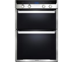 KD1505SS-1 Electric Double Oven - Black & Stainless Steel