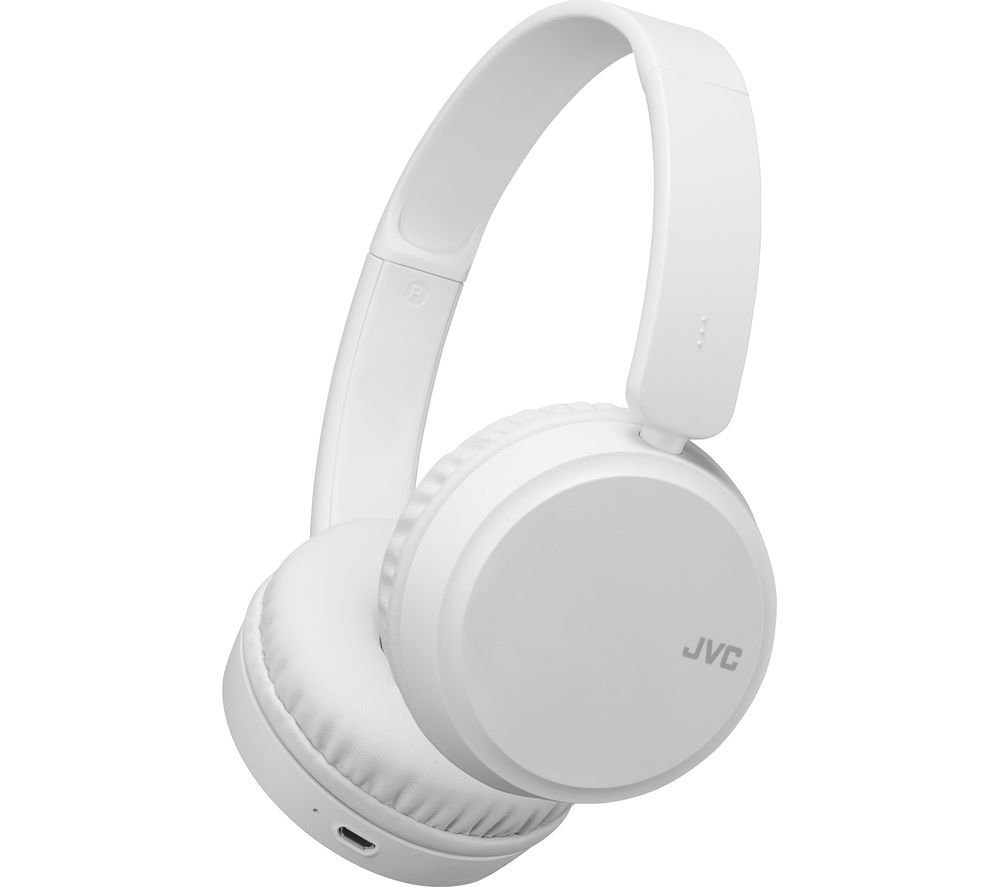 JVC HA-S35BT-W-U Wireless Bluetooth Headphones - White