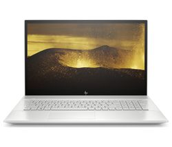 "HP ENVY 17-ce0576na 17.3"" Intel® Core™ i7 Laptop - 1 TB HDD & 256 GB SSD, Silver"