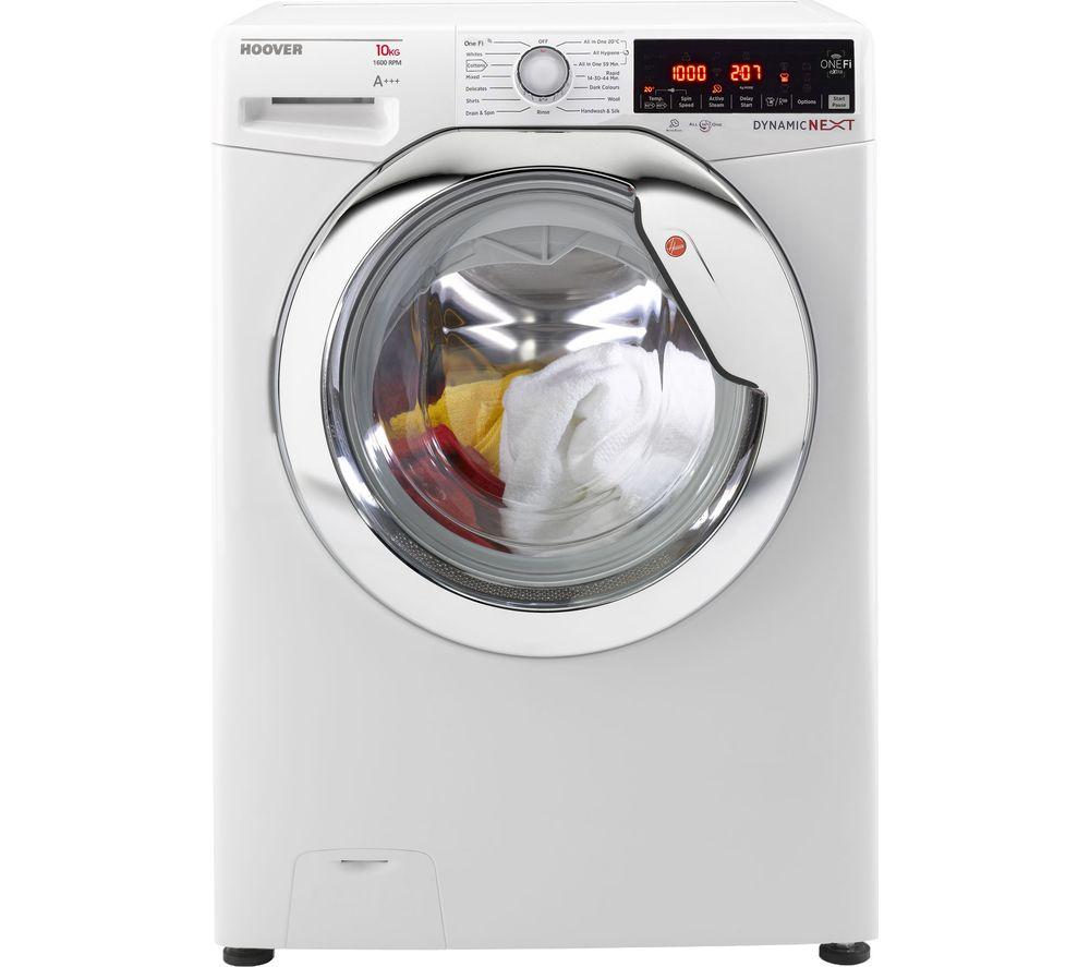 Dynamic DWOAD 610AHC8 WiFi-enabled 10 kg 1600 Spin Washing Machine - White, White