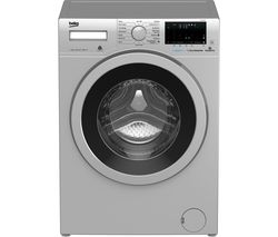 BEKO WX740430S Bluetooth 7 kg 1400 Spin Washing Machine - Silver