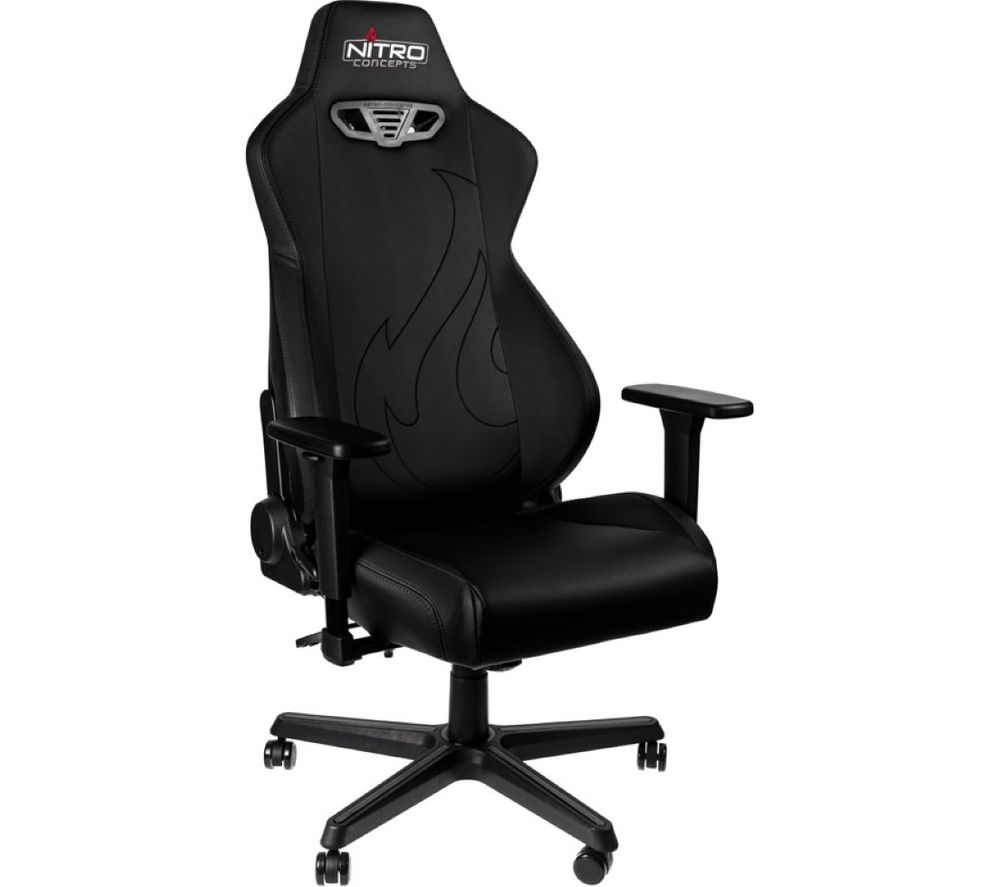 NITRO CONCEPTS S300 EX Gaming Chair - Black