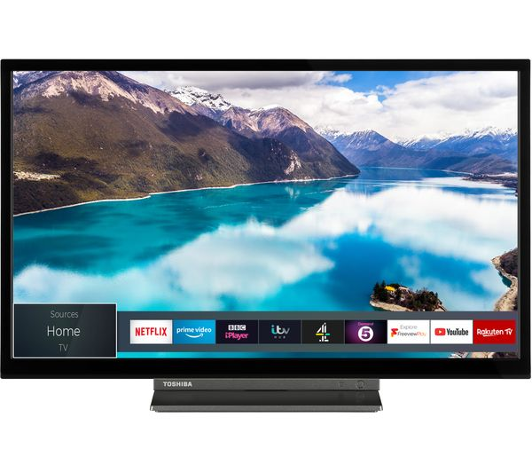 Toshiba 24wd3a63db 24 Smart Hd Ready Led Tv With Built In Dvd Player Fast Delivery Currysie