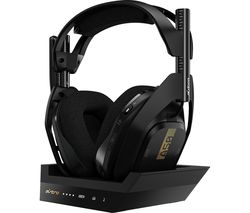 A50 Wireless 7.1 Gaming Headset & Base Station - Black & Gold