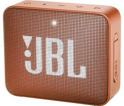 JBL Go 2 Portable Speaker - Orange