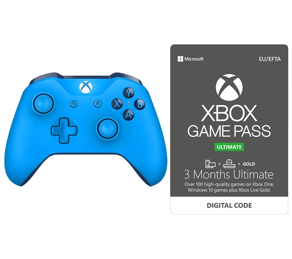 Buy Microsoft Xbox One Wireless Controller  3 Month Game -5025