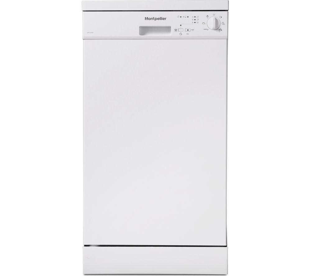 Image of DW1064P-2 Slimline Dishwasher - White, White