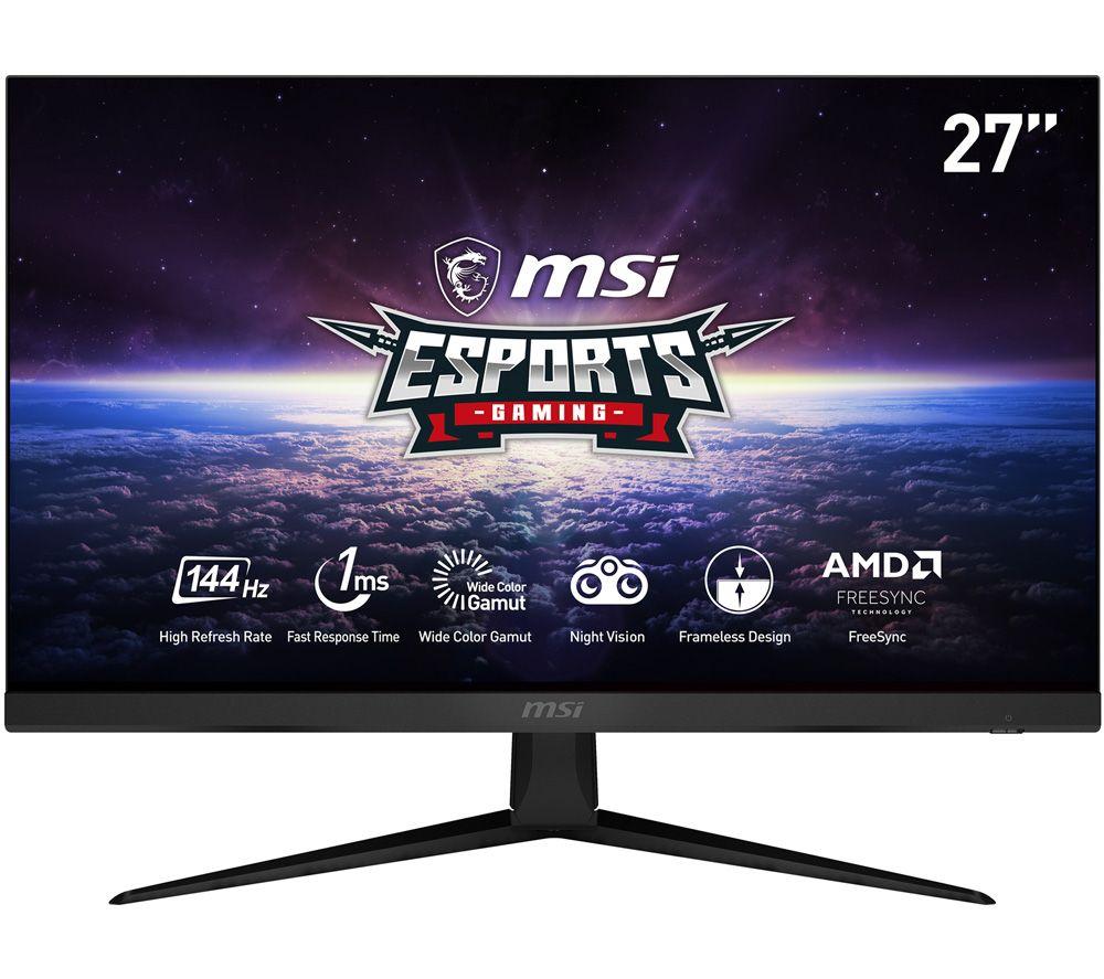 "MSI Optix G271 Full HD 27"" IPS LCD Gaming Monitor - Black"