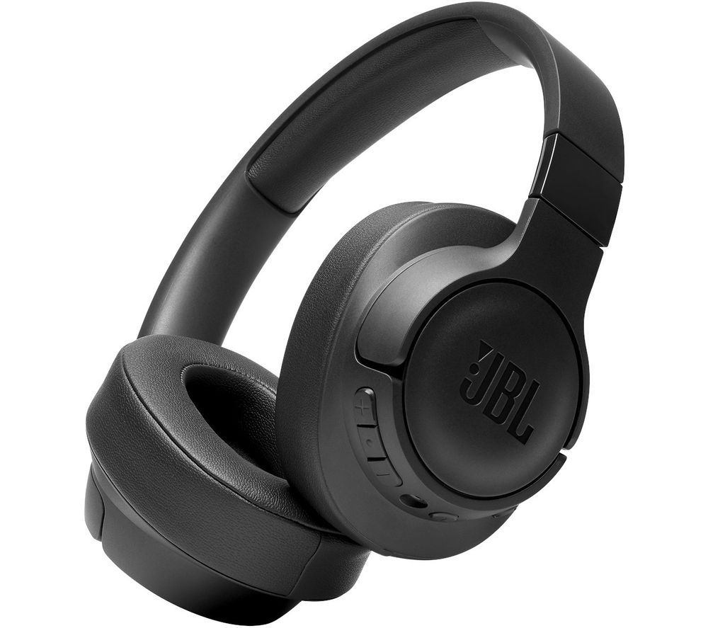 JBL Tune 750BTNC Wireless Bluetooth Noise-Cancelling Headphones - Black