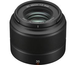 Fujinon XC 35 mm f/2 Standard Prime Lens - Black