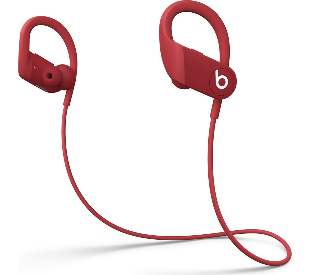 Image of BEATS Powerbeats High-Performance Wireless Bluetooth Sports Earphones - Red, Red
