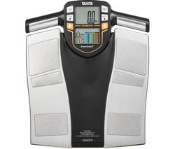 InnerScan V BC-545N Electronic Bathroom Scales - Black & Grey