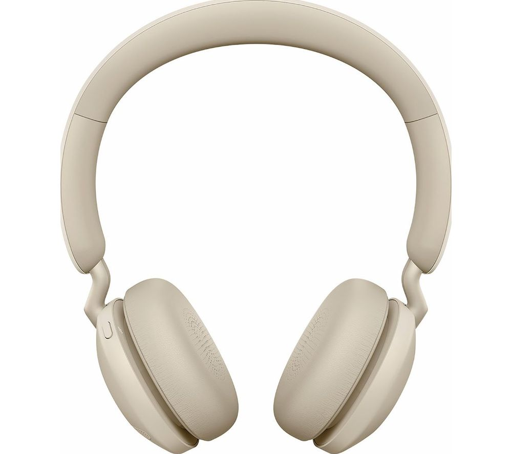 JABRA Elite 45h Wireless Bluetooth Headphones - Gold Beige