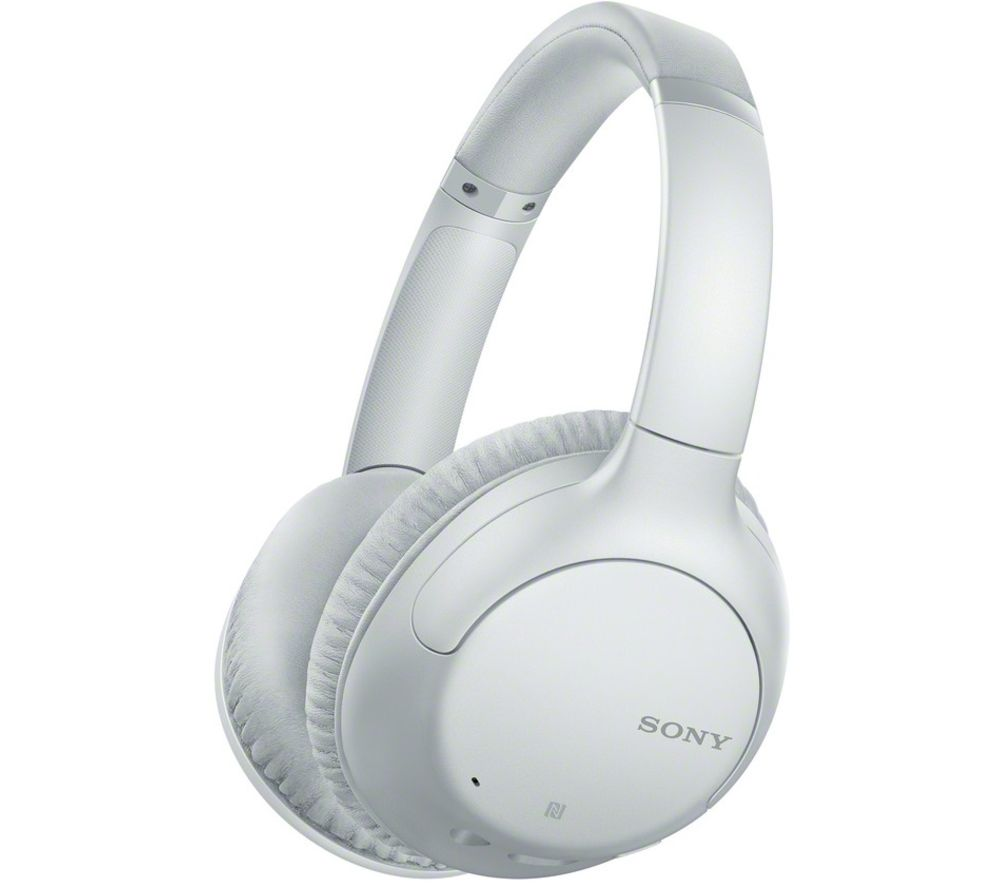 SONY WH-CH710N Wireless Bluetooth Noise-Cancelling Headphones - White