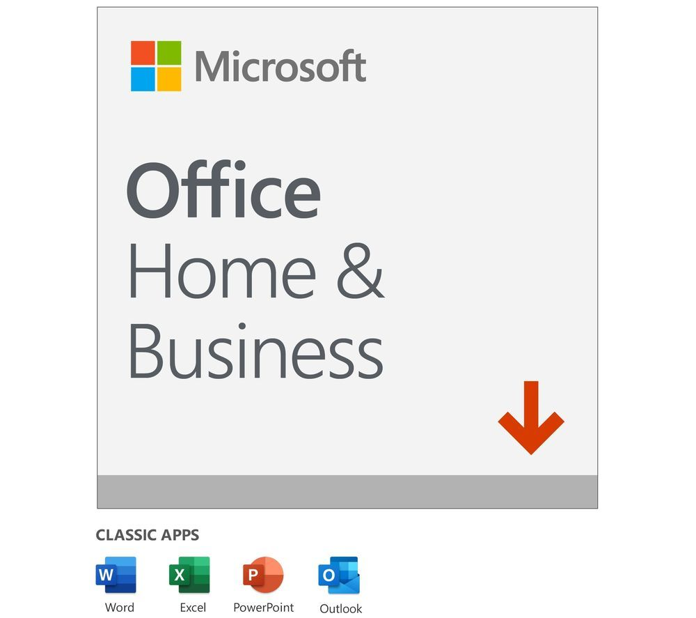 MICROSOFT Office Home & Business - Lifetime for 1 user (download)