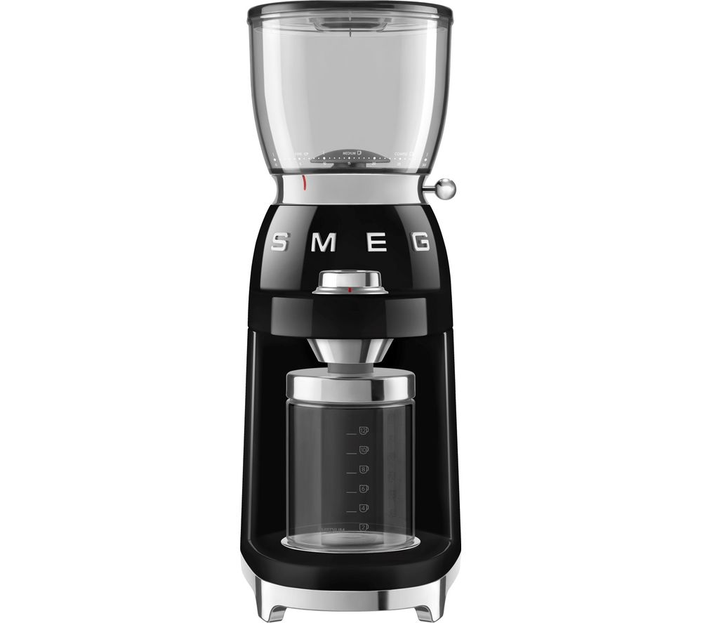 SMEG CGF01BLUK Electric Coffee Grinder - Black