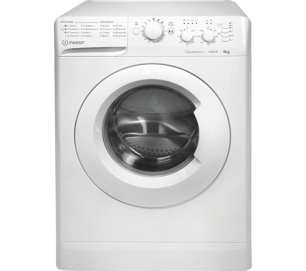 INDESIT MTWC 91483 W UK 9 kg 1400 Spin Washing Machine - White