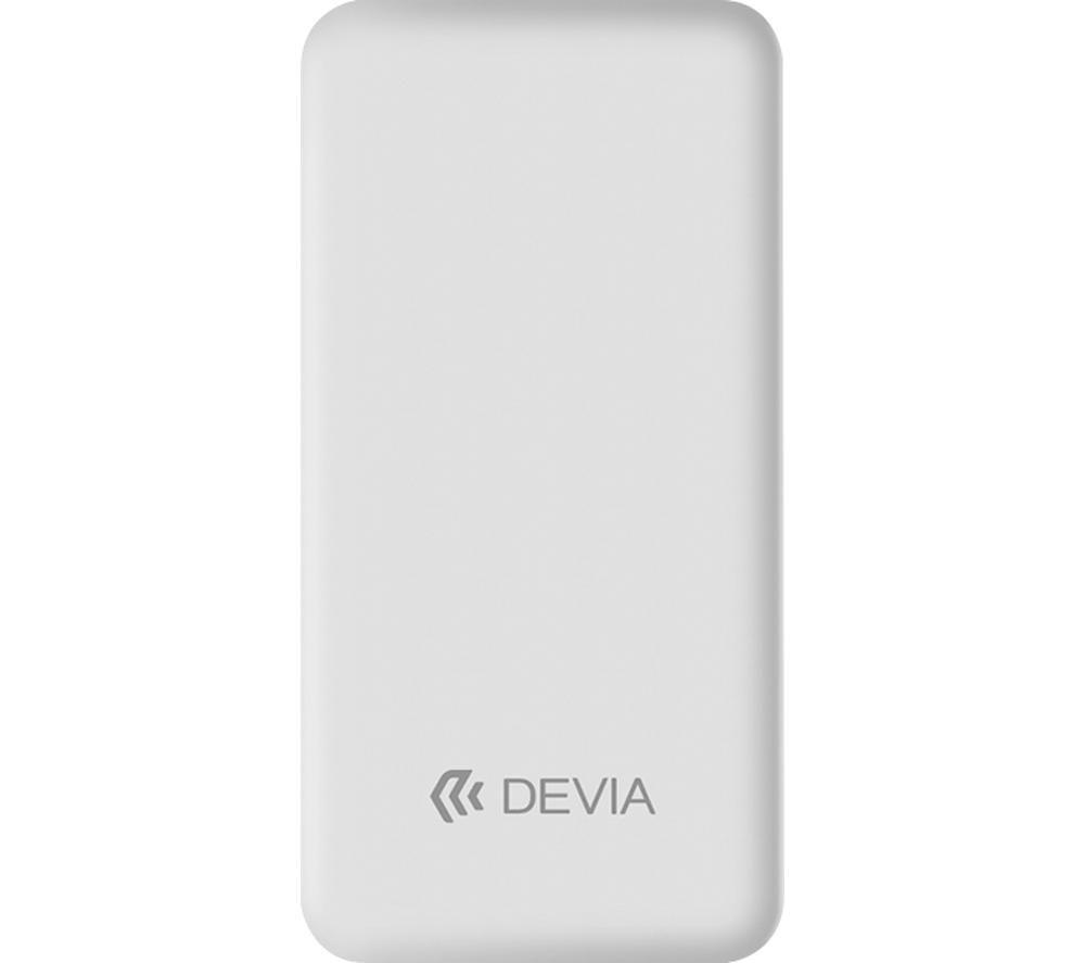 DEVIA DEV-SMARTPD-POW10-WHT Portable Power Bank - White
