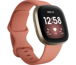Versa 3 - Pink Clay & Soft Gold