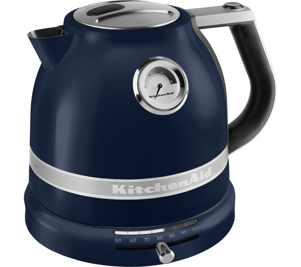 KITCHENAID Artisan Variable Temperature 5KEK1522BPP Jug Kettle - Ink Blue