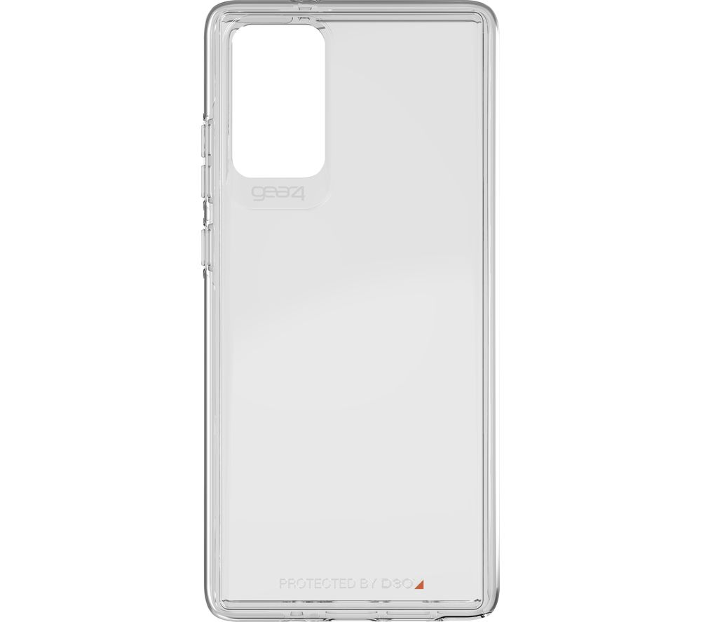 GEAR4 Crystal Palace Galaxy Note20 Silicone Case - Clear