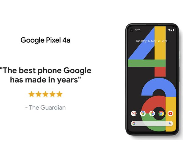 Google Pixel 4a - 128 GB, Just Black 10