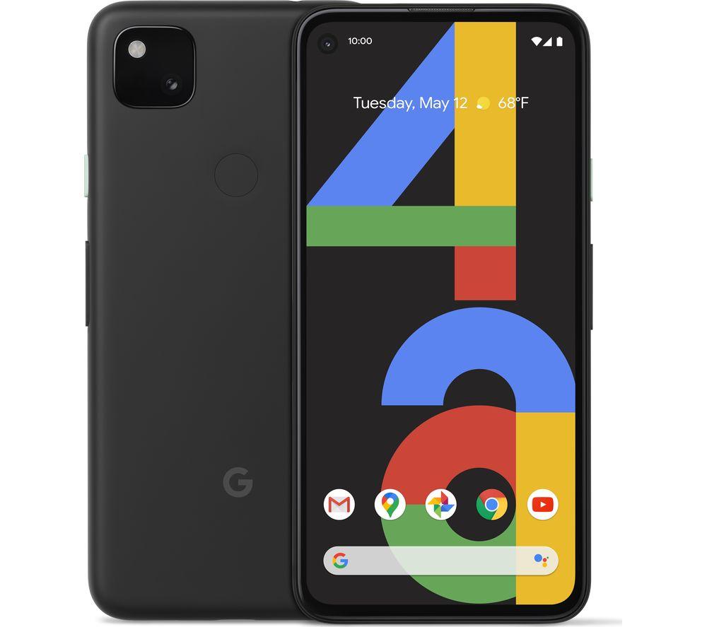 GOOGLE Pixel 4a - 128 GB, Just Black