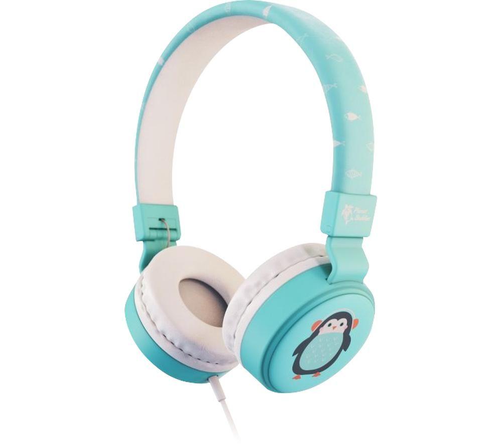 PLANET BUDDIES PBPGWHP Kids Headphones - Pepper the Penguin