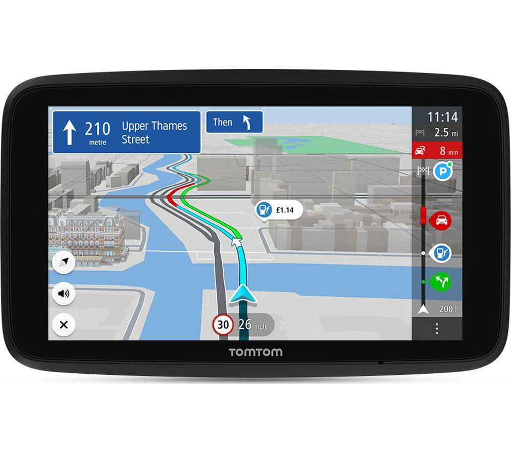"""TOMTOM GO Discover 7"""" Sat Nav - Worldwide Maps, Petrol"""