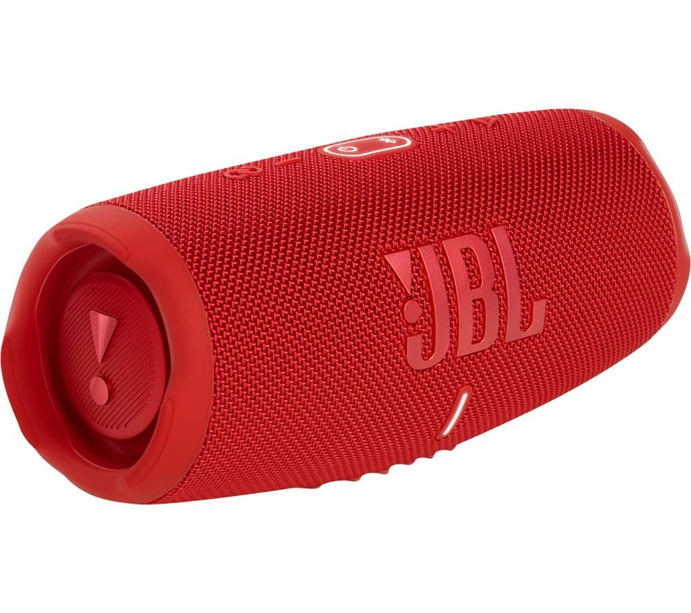 JBL Charge 5 Portable Bluetooth Speaker - Red