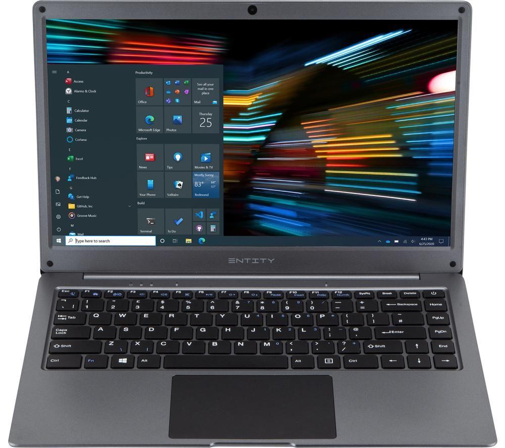 """Image of ENTITY Rove 14.1"""" Laptop - Intel®Celeron, 64 GB SSD, Grey, Grey"""